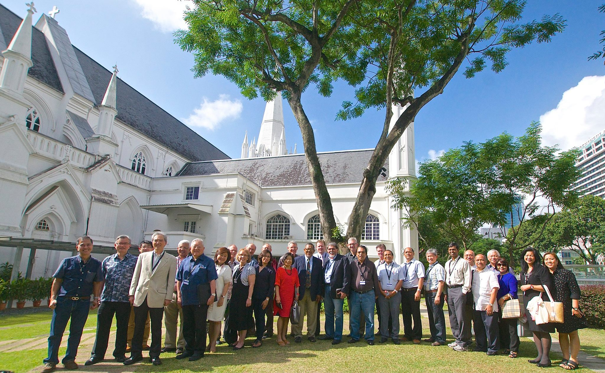 singapore group photo